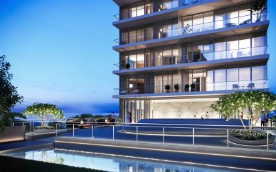 Hallandale's Glassy 38-Story 2000 Ocean Just Broke Ground